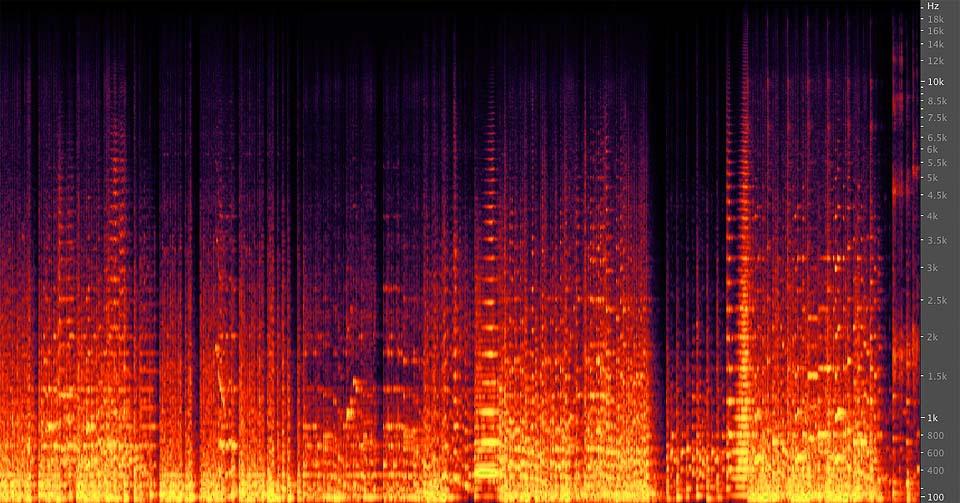 Analisi Frequenze Brano Orchestrale Classico