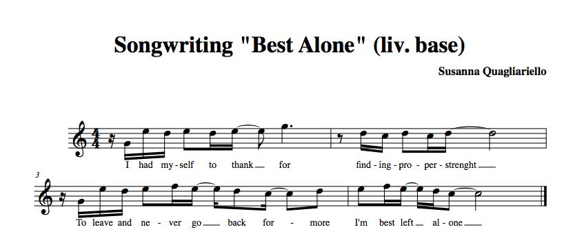 Immagine Finale del testo della canzone