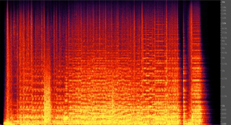 Analisi spettro frequenze nella musica da trailer